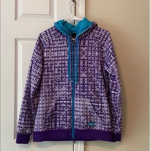 Under Armour Semi-Fitted Purple Jacket